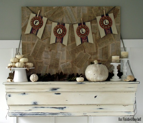 At Home With K Fall Friday Neutral Decorating