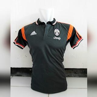 jual online baju bola polo kualitas grade ori made in thailand Baju bola polo Juventus warna hitam terbaru musim 2015/2016