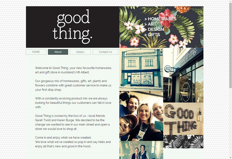Good Thing - a fab new gifts and homewares store in Mt Albert