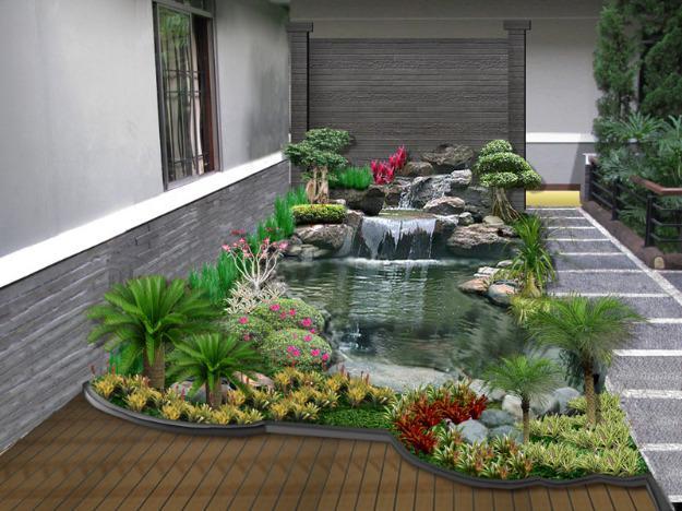 Contoh Desain Taman Minimalis Sederhana | Desain Taman Minimalis