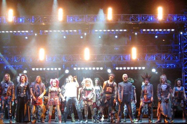 Musical We Will Rock You en escena