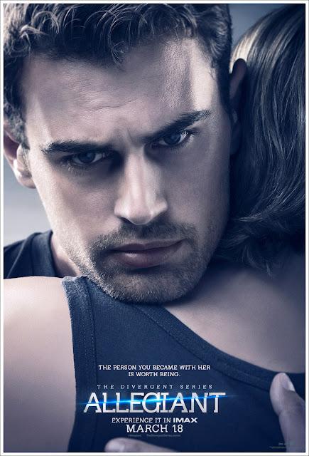 Nuevos pósters de 'La saga Divergente: Leal' centrados en Shailene Woodley y Theo James