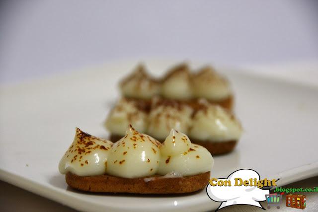 פודינג ועוגיות קרמל caramel flavored cookies pudding