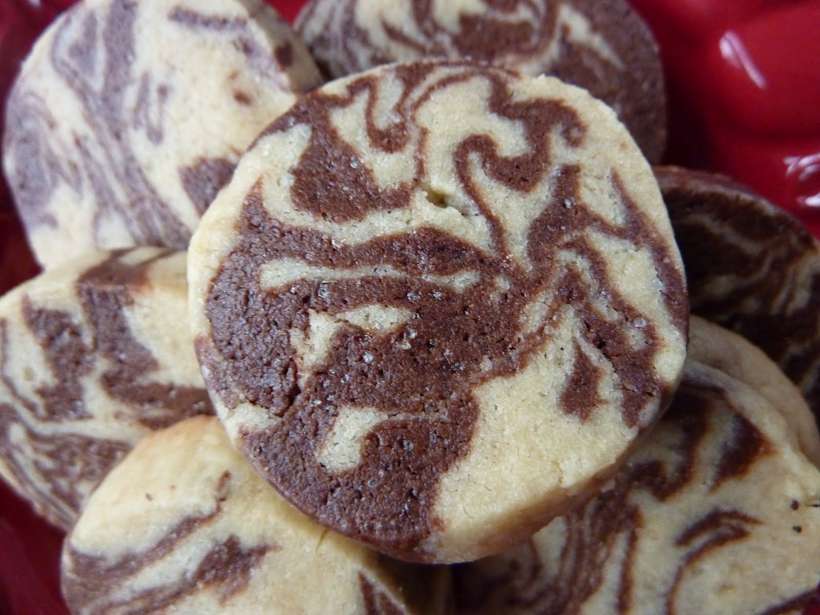 Cookies on Friday: Chocolate Peanut Butter Marble Cookies