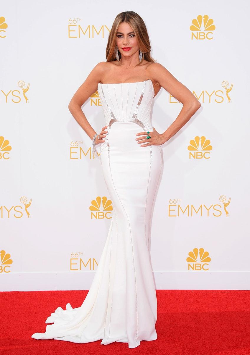 66th Emmys- Sofia Vergara in Roberto Cavalli