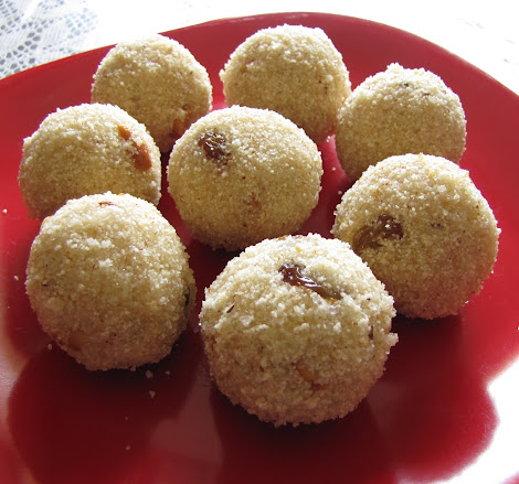 and I have been so busy with some personal work for the last couple Delightful Rava Laddu