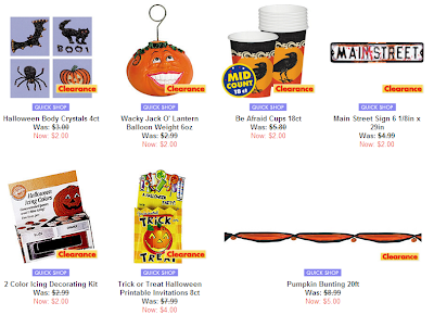 partycity also offers a number of sale halloween items that you may want to buy - Halloween Decoration Sale