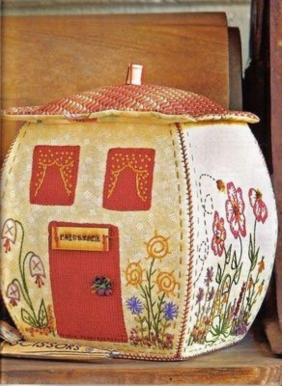 Las chorradikas de laury patr n caja patchwork en forma - Casas de patchwork ...