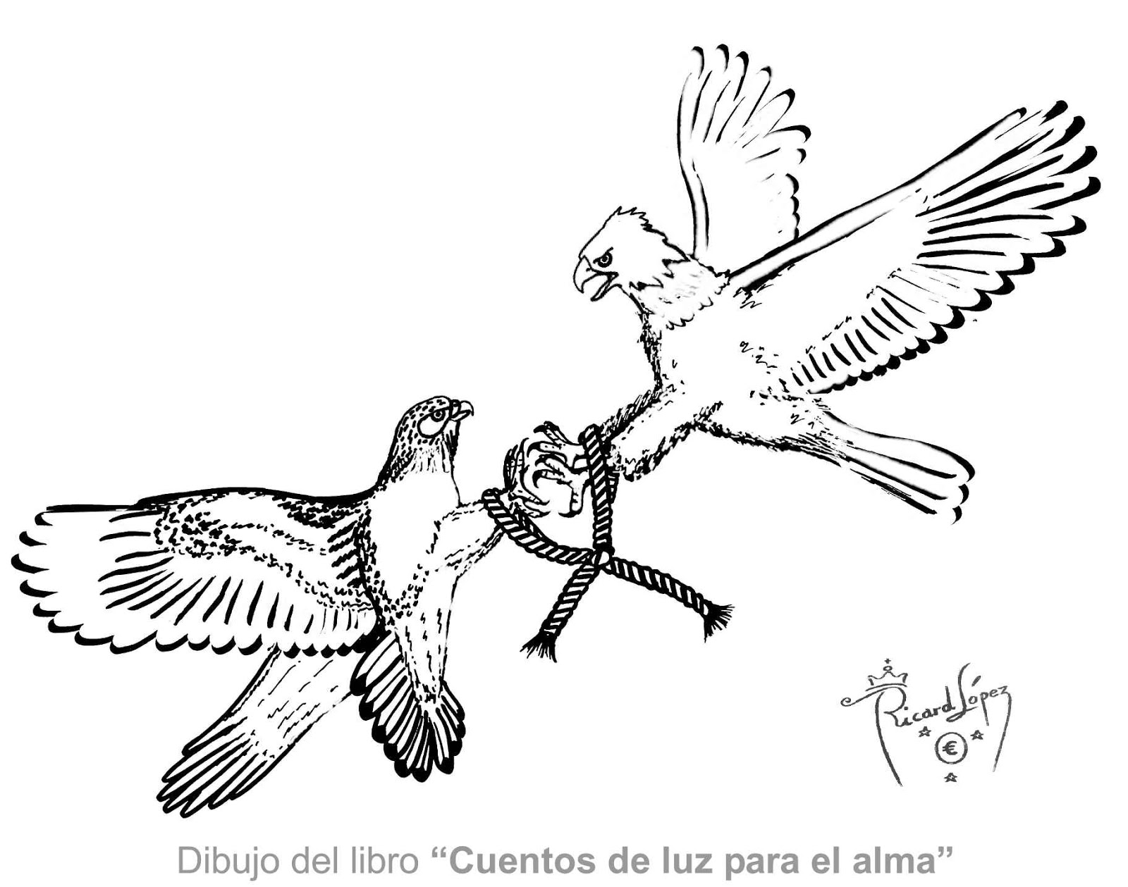Dibujos muy originales para colorear de Ricard López: Dibujo de un ...
