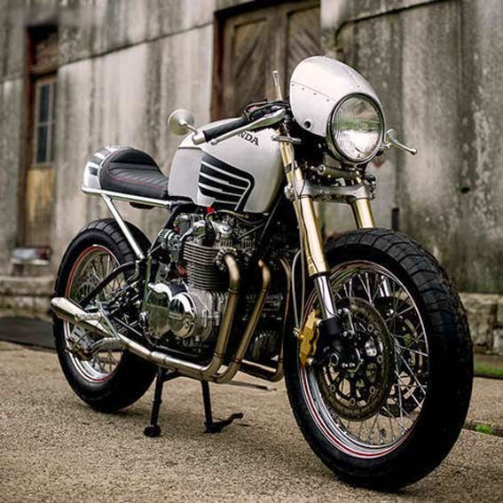 Modifikasi Motor Rx King Cafe Racer