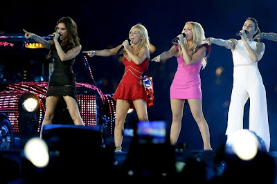 Spice Girls Olympics Closing Ceremony