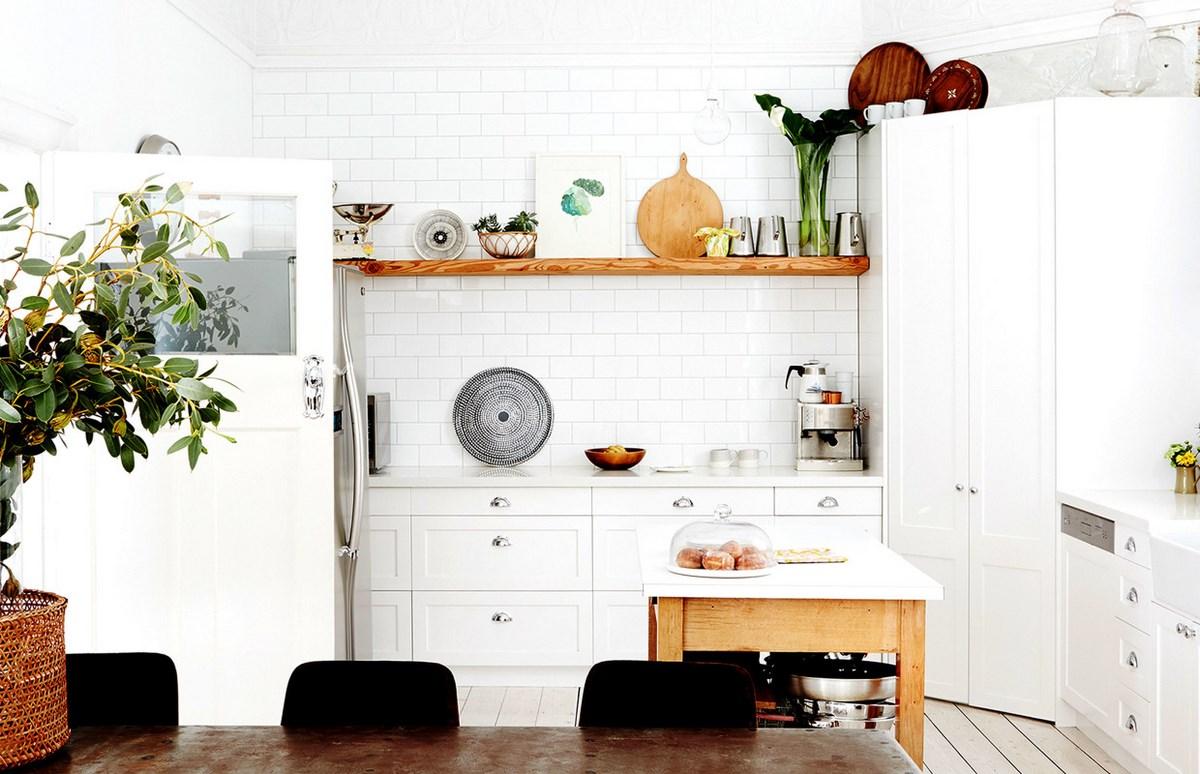 Interior De Una Casa De Estilo N Rdico Con Pinceladas De Color # Muebles Blanco Poblenou