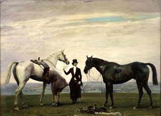 Alfred Munnings, Beatrice Kinney and horses