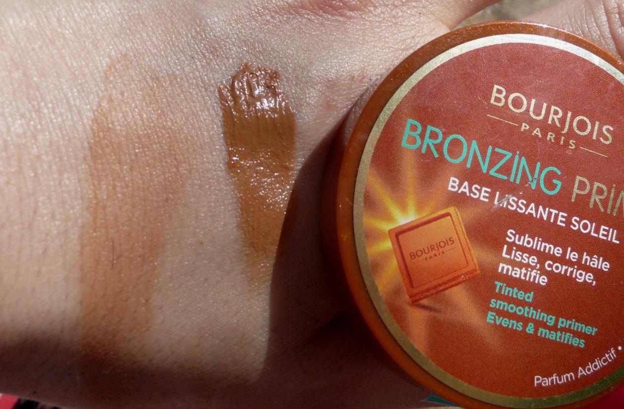 La gazette beaut un teint mat en plein soleil test bronzing primer de bourjois - Peche a peau lisse ...