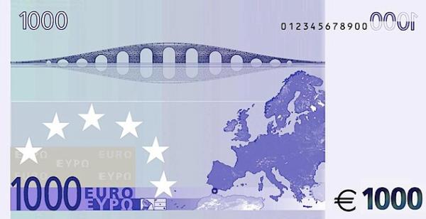 billete de 1000 € euros