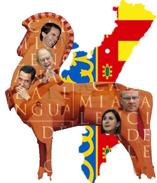 La Comunitat Valenciana i son cavall Troya - Círcul Cívic Valencià