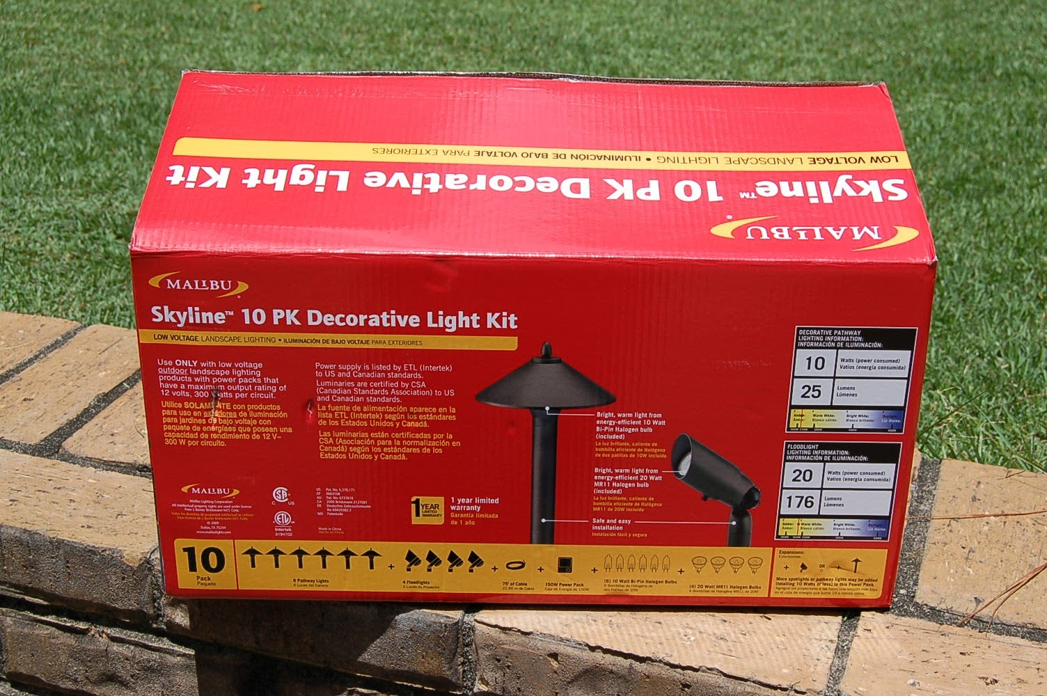 Treadster Low Voltage Outdoor Lighting Project