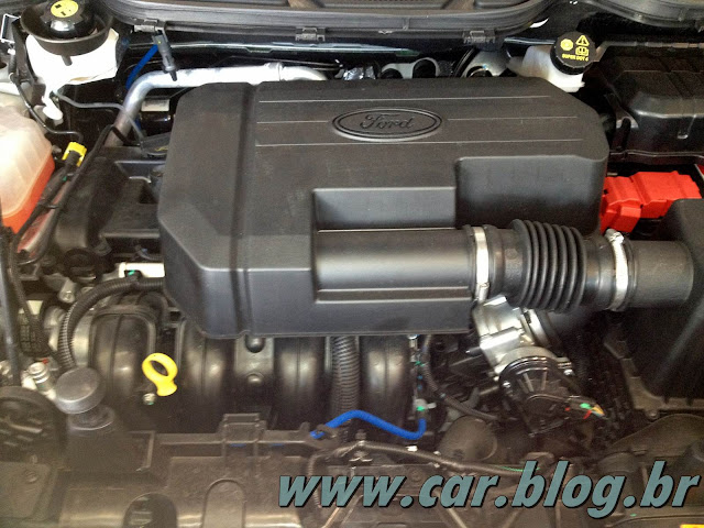 Novo Ford EcoSport 2013 - motor