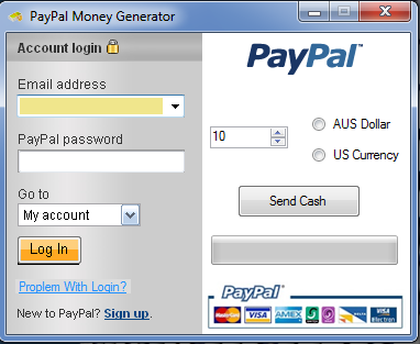 paypal money adder generator v2 5