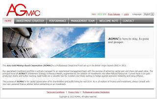 Web AGMAC Asia Gold Mining Asset Corporation