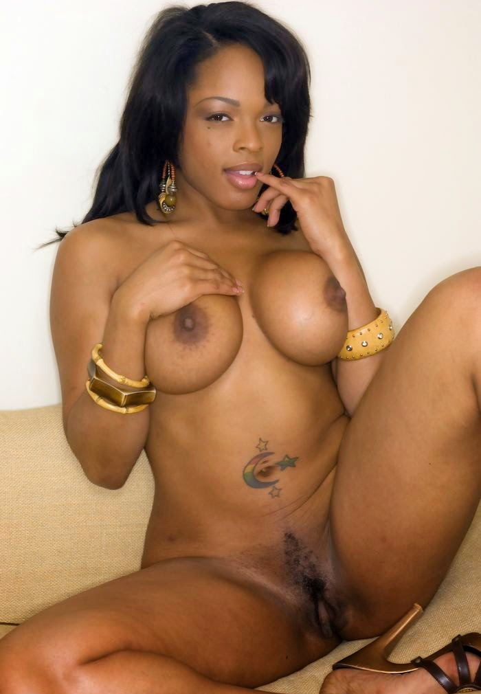 Black King Magazine Nude Models