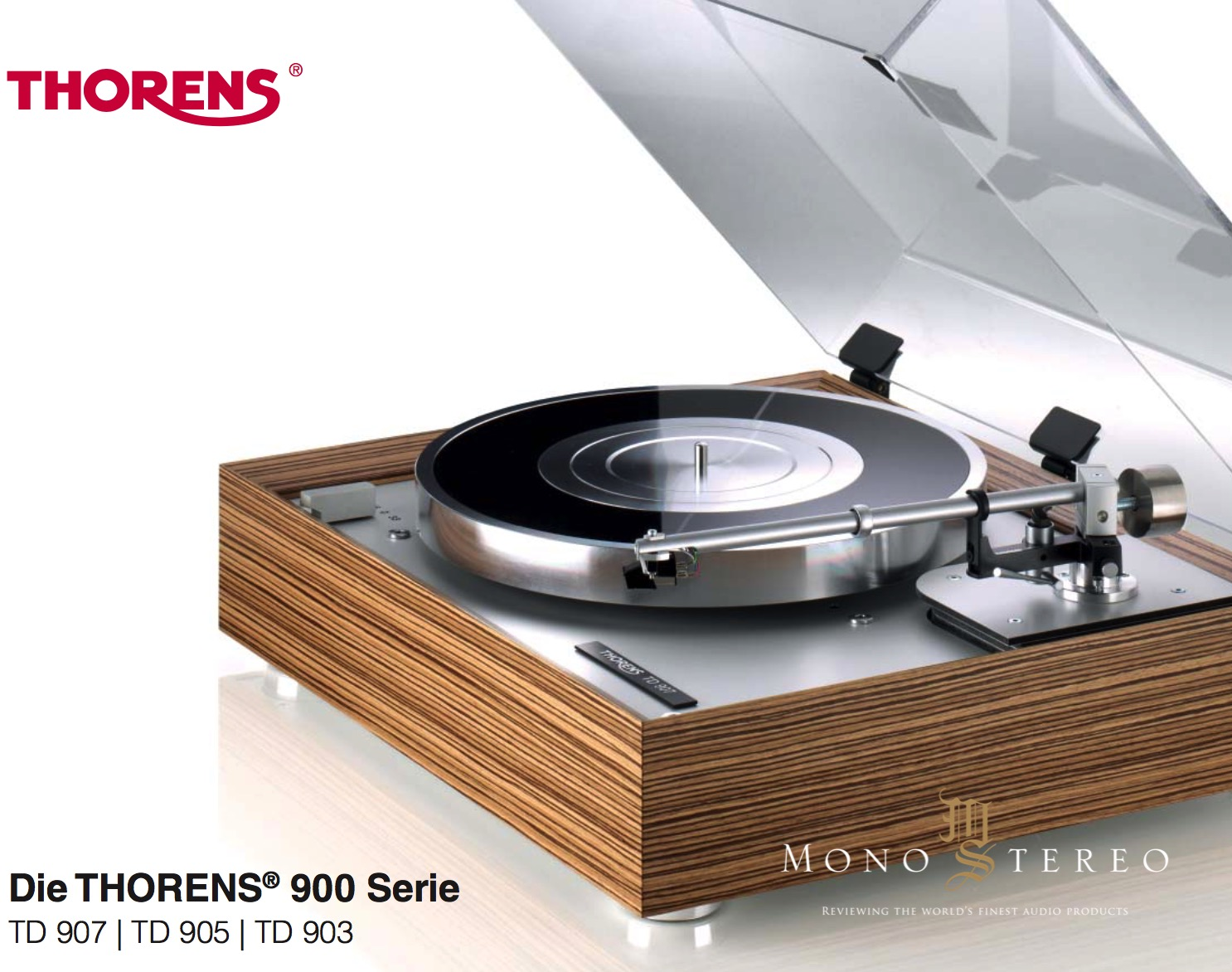 mono and stereo high end audio magazine new thorens td. Black Bedroom Furniture Sets. Home Design Ideas