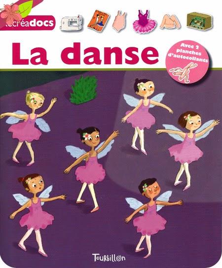 """""""La danse"""" de Karine Harel et Anne-Sophie, éditions Tourbillon"""