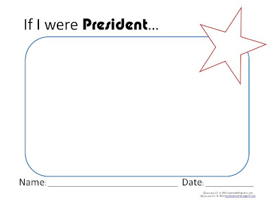 learn and grow designs website if i were president activity if i were president activity and