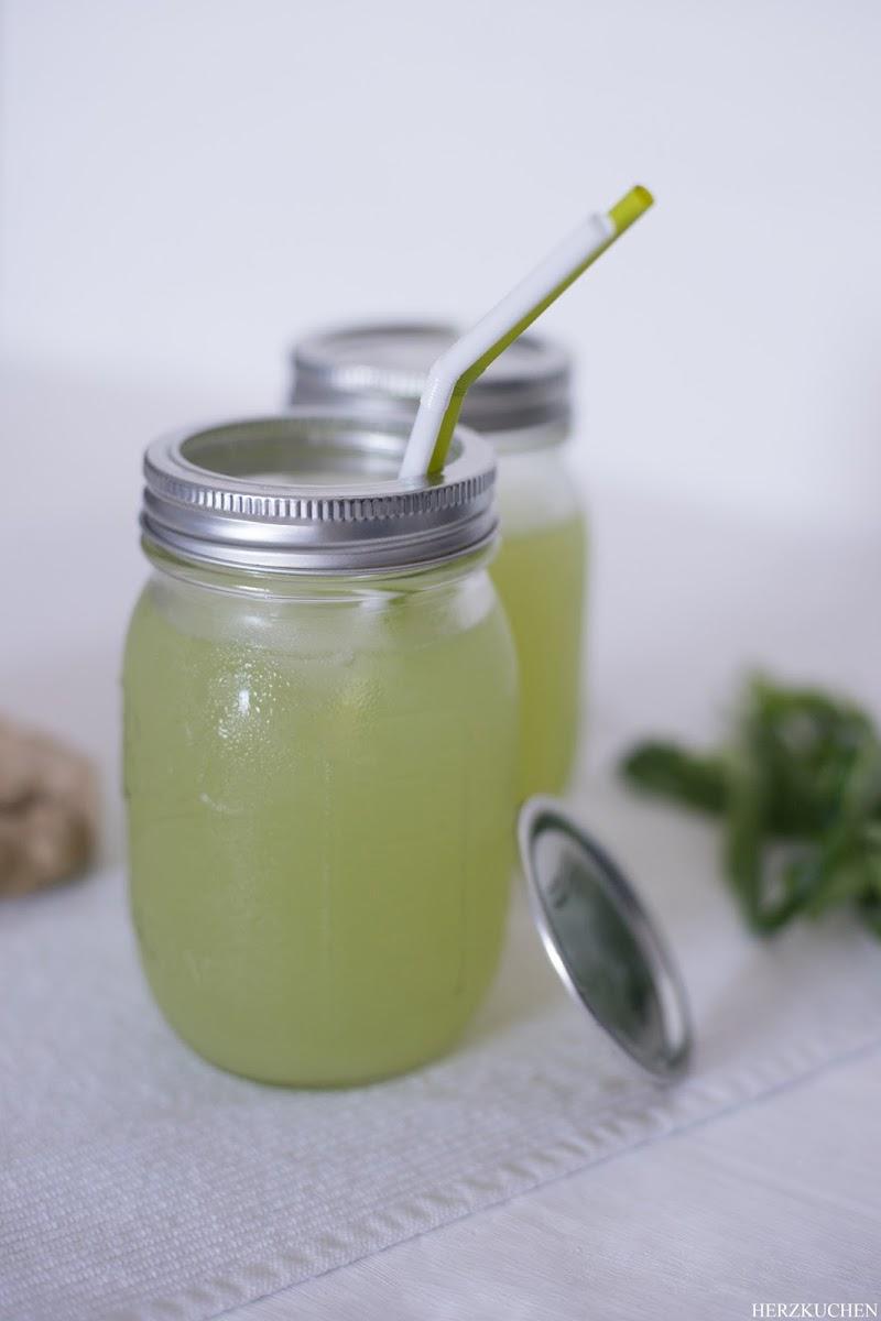 Gurken-Ingwer-Limonade