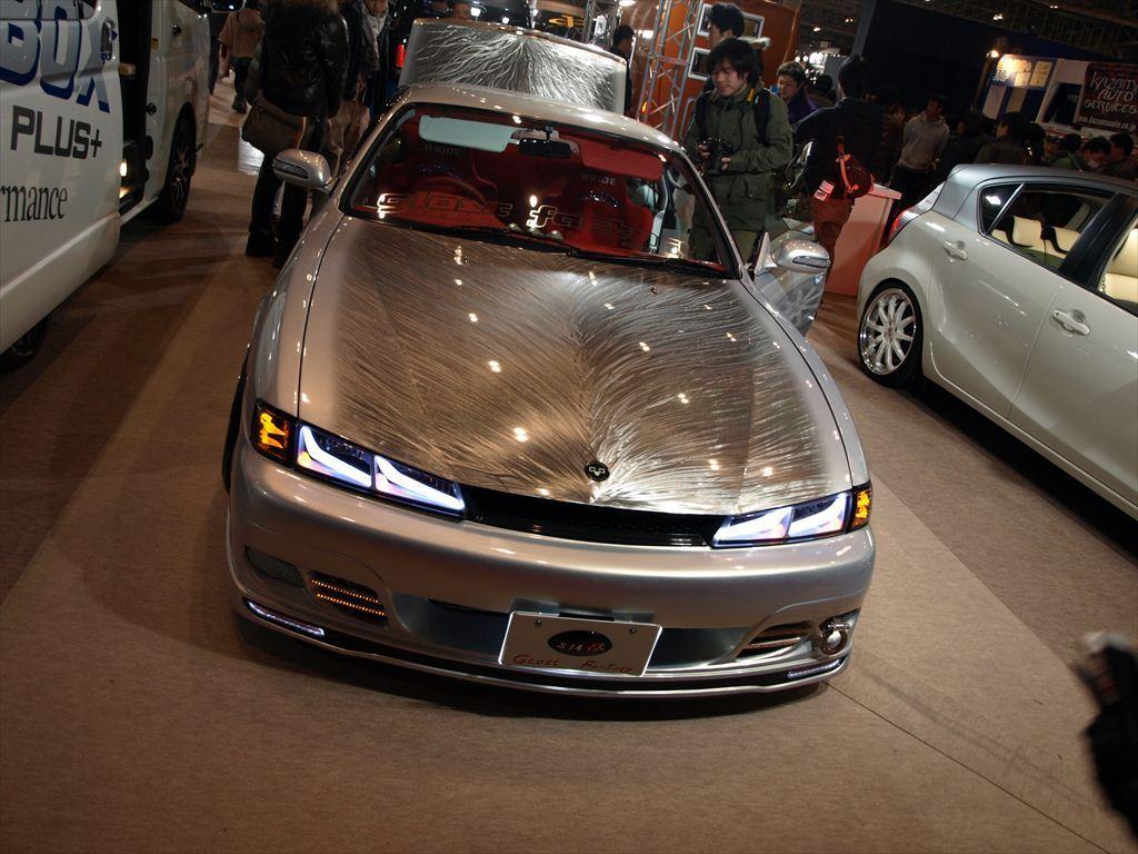 Nissan Silvia S14, tuned, modyfikacje, tuning, jdm, fotki