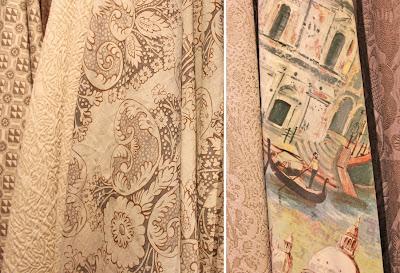 Rococo and Gondolier fabrics
