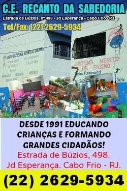 C.E. RECANTO DA SABEDORIA