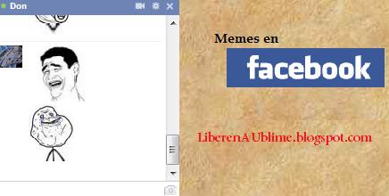 meme y mas memes en facebook chat - como poner memes - colocar
