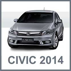 Fotos Novo Civic 2014