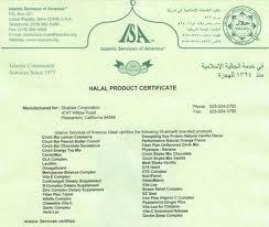 Sijil Sah Halal