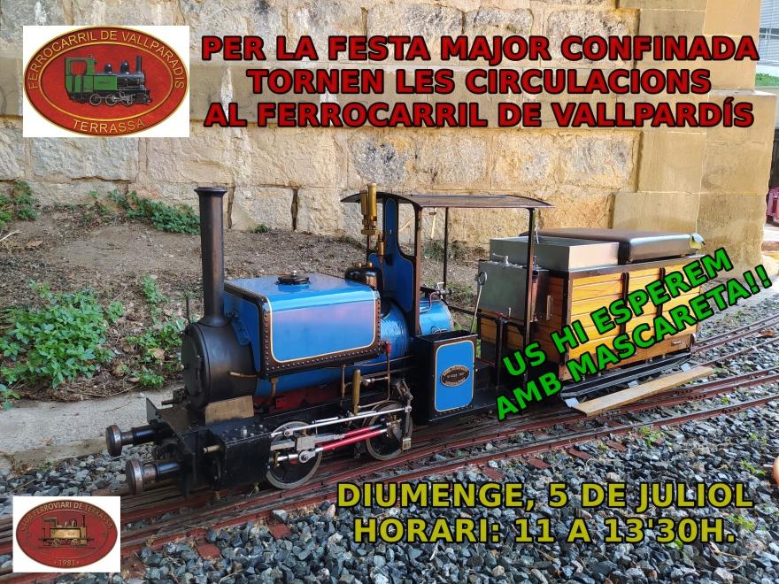 F.C. Vallparadís - Cartell de Tornada
