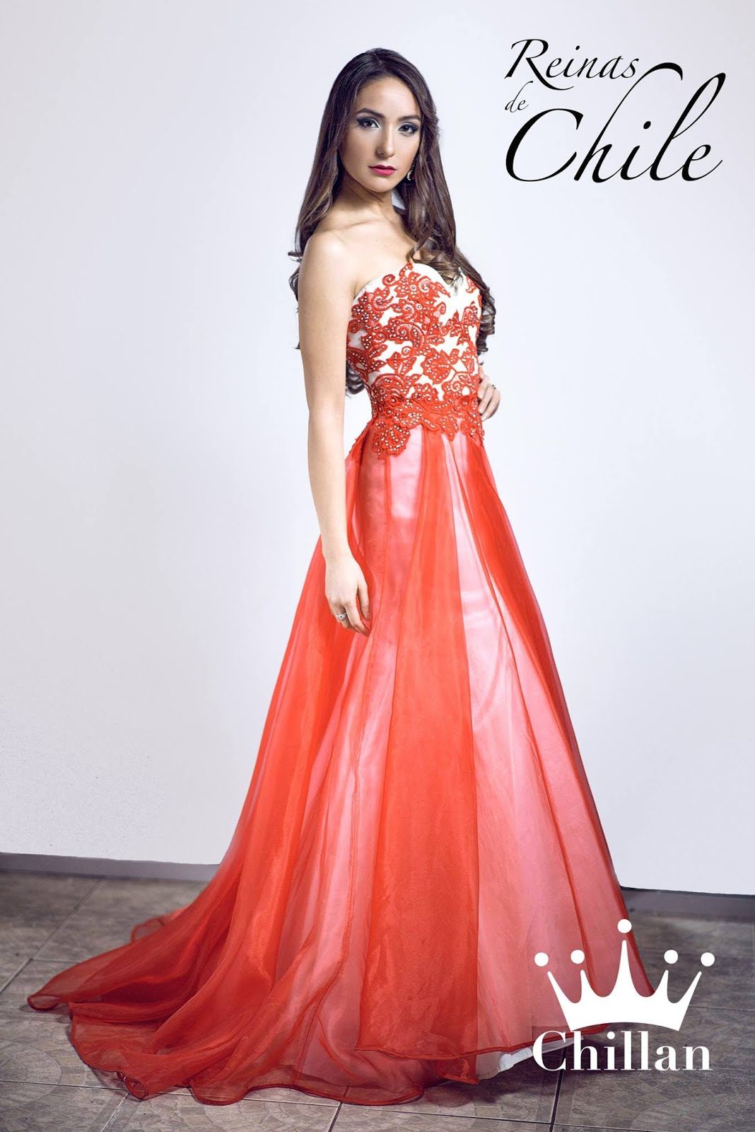 Camila Santander Chávez, Miss Chillán en certamen de belleza Reinas de Chile - Talca 2017