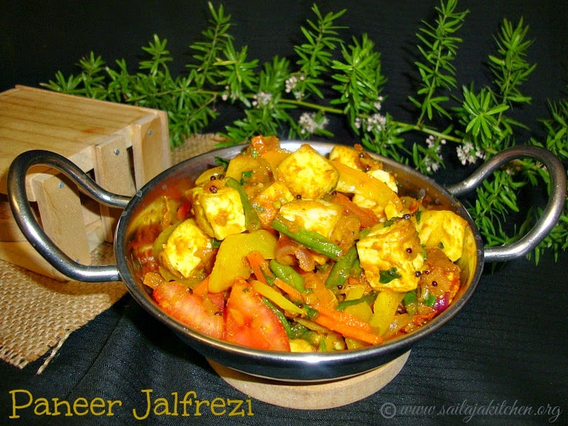 images for Paneer Jalfrezi / Paneer Vegetable Jalfrezi Recipe