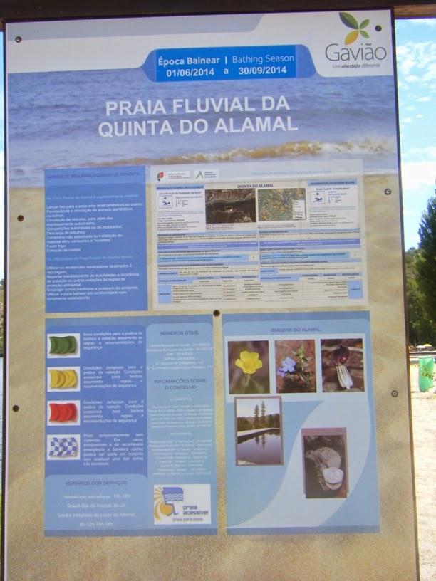 Época Balnear 2014 na Praia Fluvial Alamal