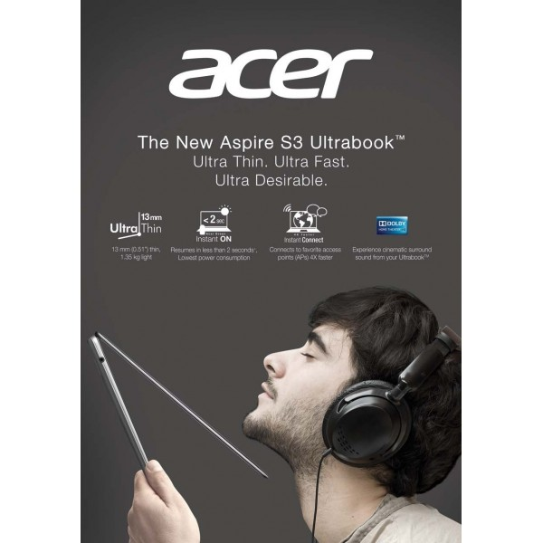 Harga Dan Spesifikasi Acer Aspire S3 Ultrabook I3 Info