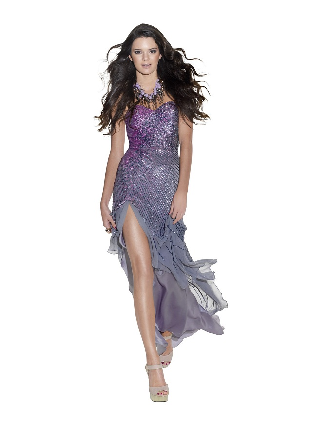 Kendall Jenner poses for TeenPROM Magazine 2012