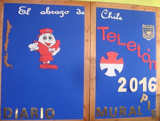 Escuela Pehuén colabora con la Teletón 2016