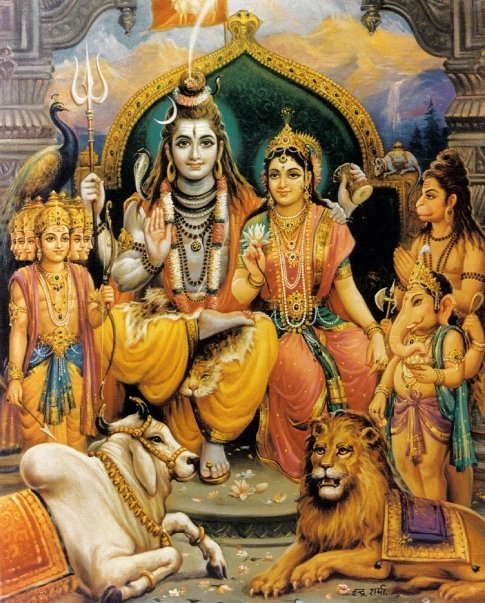 Lord Shiva And His Family God Pictures Auto Design Tech