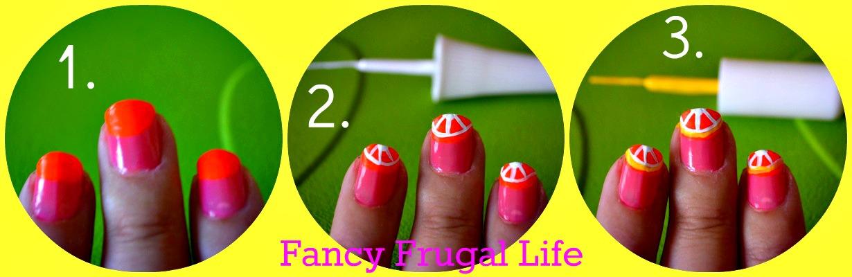 Citrus Nails Tutorial |