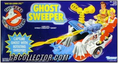 The REAL Ghostbusters Kenner Ghost Sweeper Vehicle