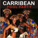 New year Carribean party