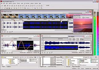 برنامج تسجيل وتحرير الصوت download sound frog