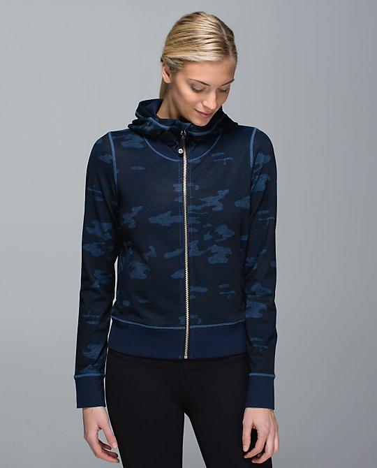 lululemon oil-slick-blue namaskar hoodie
