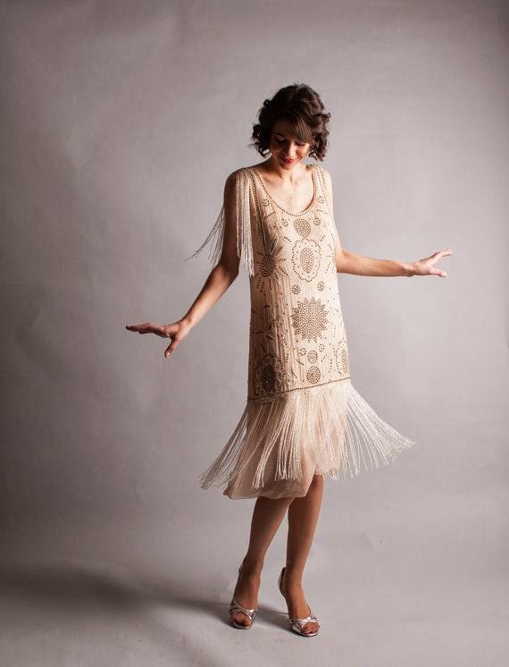 Vintage 1920s Affordable Wedding Dress - Etsy