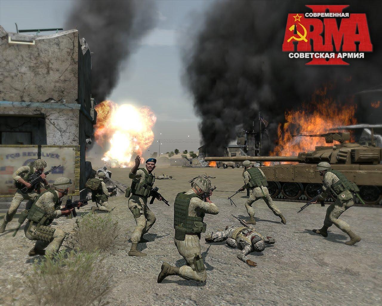 弱者の日記^^  ArmA2 現代に生き延びたソビエト連邦軍 MOD がリリース